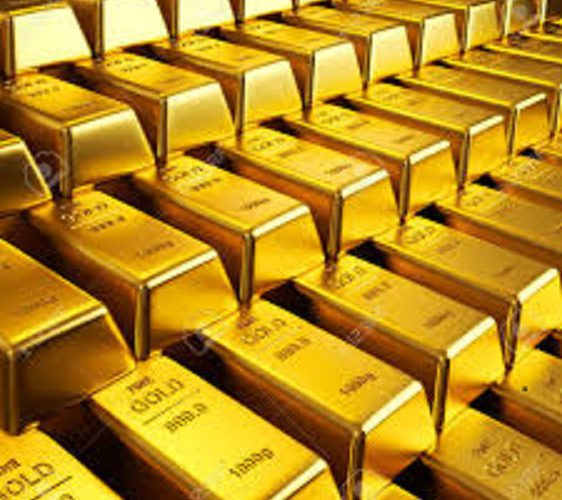 Gold hovers near 1-week low as risk appetite returns; ECB meet in focus